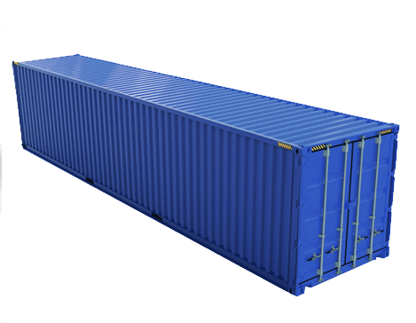 40ft Standard Shipping Container Van
