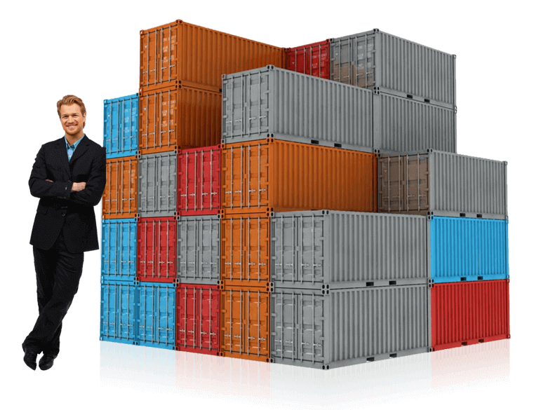 Container cargo services by Top Universe.